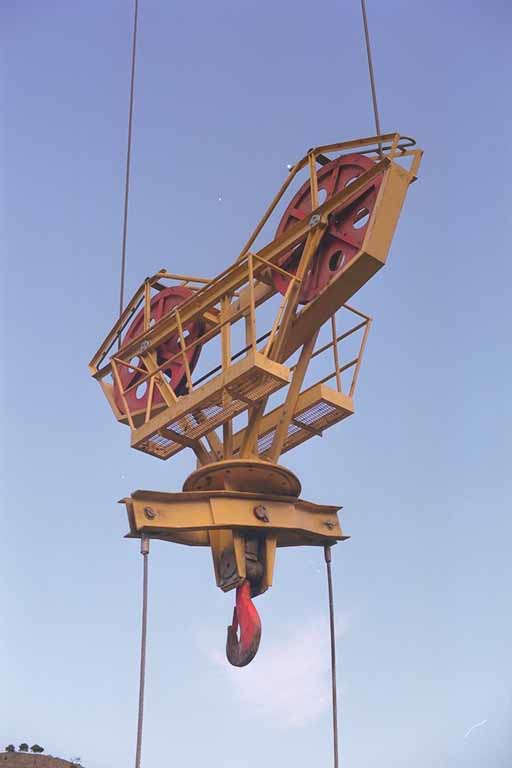 Ropeway cable crane material handling Cable Cranes Material Handling Ropeways